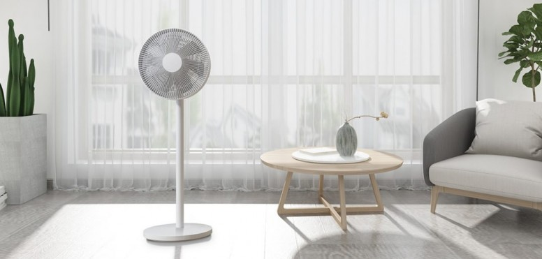 Xiaomi Smart Mi Standing Fan 1C Ventilatore Intelligente - Bianco
